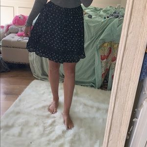 Navy blue Abercrombie & Fitch skirt